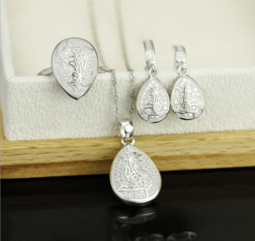 Micro Paved Jewelry Set