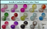 Acrylic Cracked Beads