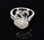 Micro Paved Finger Ring