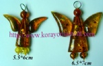 Amber Angel Pendants